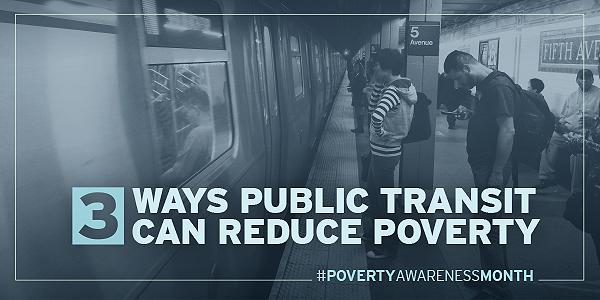 3 Ways Public Transit Can Reduce Poverty
