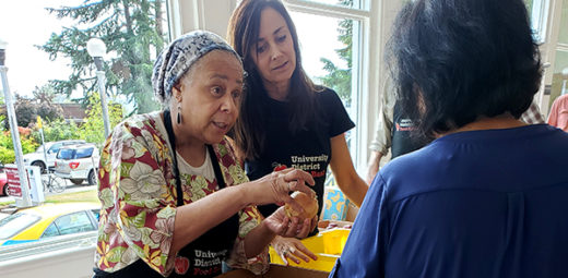 Magnuson Park Food Pantry Volunteers