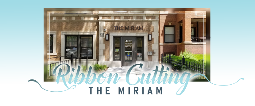 Ribbon Cutting The Miriam